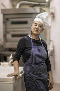 Patrizia, chef dell'Orto del Lupo